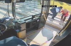 WATCH: Incredible bus driver stops woman from jumping off bridge