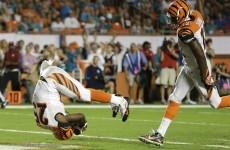 Gio Bernard scored the best touchdown of the NFL season last night