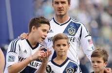 Brooklyn Beckham is given Manchester United chance