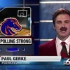 Sportscaster delivers an entire bulletin as Ron Burgundy