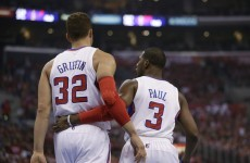 Chris Paul and Blake Griffin unleashed three alley-oops in 35 seconds last night