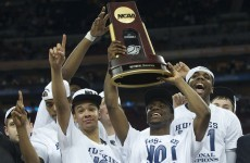 Connecticut Huskies end mad March as top dog