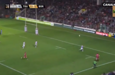 Video: Jonny Wilkinson sets up try with excellent cross-field kick