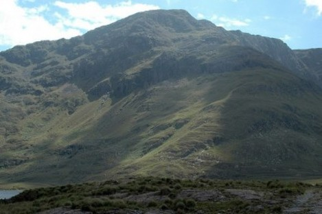 Mweelrea mountain