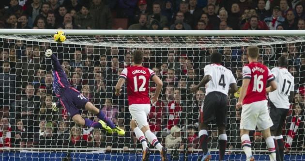 Aaron Ramsey scores a cracker as Arsenal outclass Liverpool
