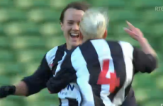 GIF: Ciara Grant's two-touch lob helps Raheny win FAI Cup