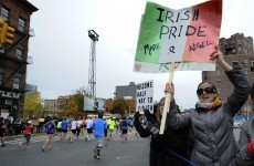13 touching, inspirational and funny images from the NYC Marathon
