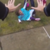 WATCH: Man accidentally scares children to tears, immediately panics