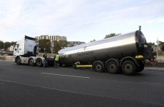 Guinness truck sheds its load causing major traffic delays in Dublin
