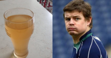 What's coming out of Brian O'Driscoll's taps?... it's The Dredge