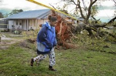 Dad and son killed by tree limb during US tornado