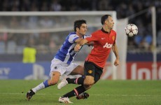 As it happened: Real Sociedad vs Manchester United, Champions League