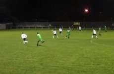 Goal of the season contender from FAI Intermediate Cup clash
