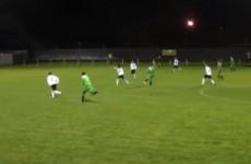 Goal of the season contender from FAI Intermediate Cup clash