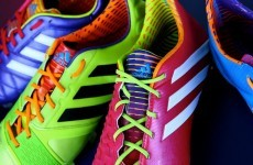 Adidas launches its most colourful range of football boots yet