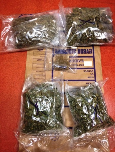 Two arrested in seizure of €100,000 worth of cocaine and cannabis