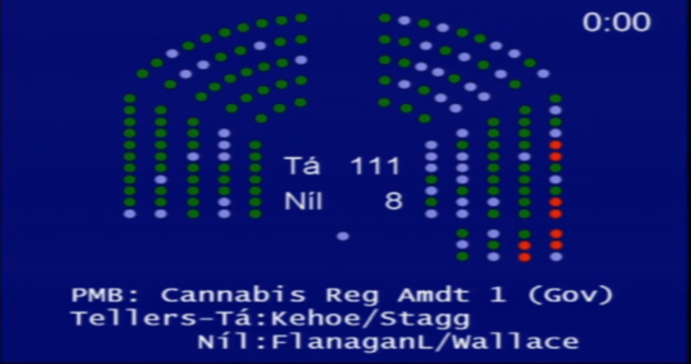 Dáil rejects Luke 'Ming' Flanagan's cannabis regulation motion