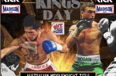An Irishman is now Australia's middleweight boxing champion