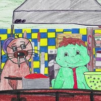 6th class students from Arklow make amazing Masterchef animation