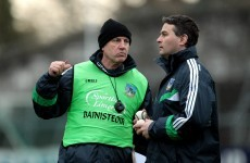 TJ Ryan and Donal O'Grady to manage the Limerick senior hurlers