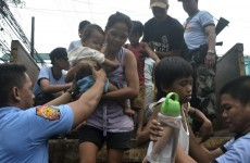 One of the most powerful typhoons on record hits Philippines
