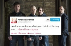 Tweet Sweeper: Amanda Brunker thinks Love/Hate is a documentary