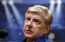 Ferguson absence relieves referee pressure, says Wenger