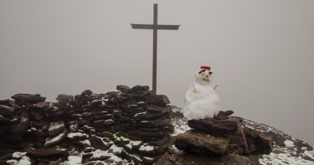 Your first snowman picture of the season