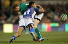 GIF: O'Driscoll genius opens up Samoan defence