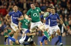 Heaslip lauds the breakdown efforts of O'Mahony and Best