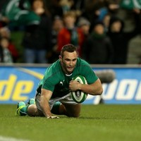 Double try-scorer Kearney makes mark on Ireland debut