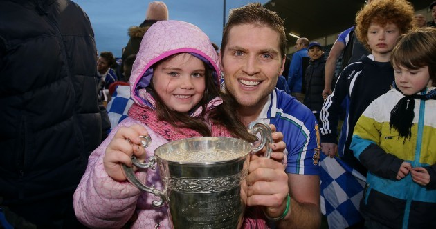 Snapshot - Conal Keaney celebrates Dublin title with his daughter