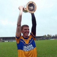 37 year-old Niall Gilligan inspires Sixmilebridge to Clare hurling title