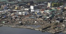 Gilmore announces €1m emergency fund for Philippines relief effort