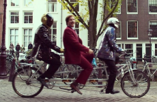 So, Ron Burgundy hung out with Daft Punk over the weekend