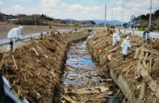 Japanese dash to recover decomposing bodies near Fukushima