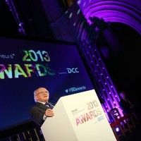 Social entrepreneurs were honoured by President Michael D. Higgins tonight