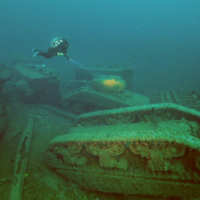 Incredible dive video shows WW2 tanks littering seabed off Donegal