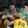 Ireland v Australia has already started on Twitter