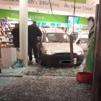 Five injured as van ploughs into Ennis supermarket