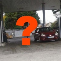 Why would anyone fill their car up like this Kerry driver?