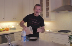 Commander Chris Hadfield is having a tough time readjusting to gravity