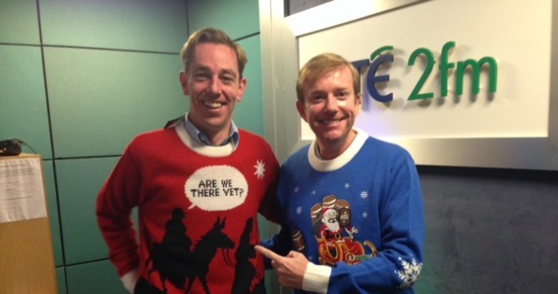TV3 and RTÉ enter Christmas jumper wars