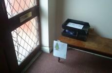 Well, 2013 already has a 'laziest Christmas tree' winner