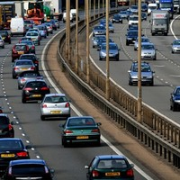 Motorways north and south of the border closed after security alert