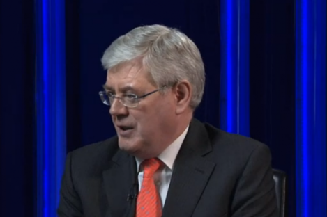 Eamon Gilmore speaking to Sky News this morning