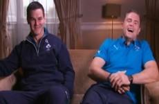 VIDEO: Jamie Heaslip explains 'narky' Sexton's on-pitch demeanour
