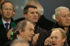 SNAPSHOT: O'Neill and Keane are at Ireland v Australia