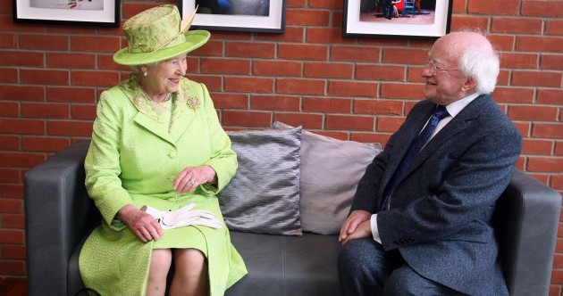 President Higgins accepts invitation from Queen Elizabeth II to visit the UK