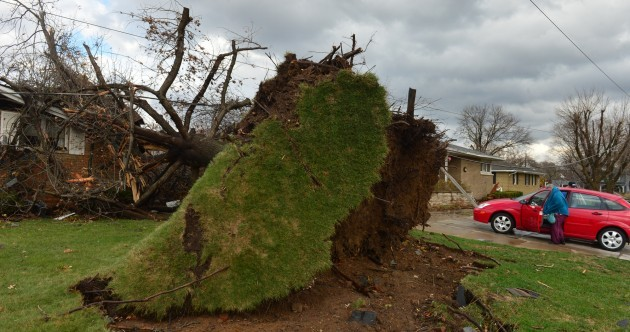 Six killed as tornadoes tear across America's midwest